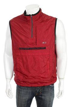 795f104bd Vintage 90 s Hilfiger Athletics Reversible Fleece Lined Nike Jacket