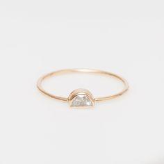 half moon diamond / vale  #bijoux #bijouxcreateur #france #paris #bijouxfantaisie #jewelry