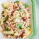 Try the Farro Salad with Artichoke Hearts Recipe on williams-sonoma.com/