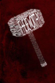 art Typography design My art Spiderman iron man tony stark type posters Captain America Thor Marvel loki avengers black widow word art Thor Quotes, Marvel Quotes, Loki Avengers, Thor Marvel, Stony Avengers, Marvel Art, Asgard, Chris Hemsworth Thor, Iron Man Tony Stark