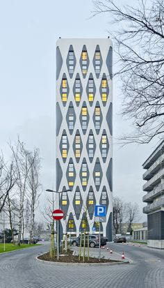 Polish Modern Architecture - Page 38 - SkyscraperCity Modernism, Modern Architecture, Poland, Facade, Buildings, Tower, Construction, Projects, House