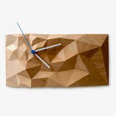 Ahornholz Block Clock - Groß von Such + Such   MONOQI