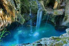 Turquoise, Triglav National Park, Bovec, Slovenia.