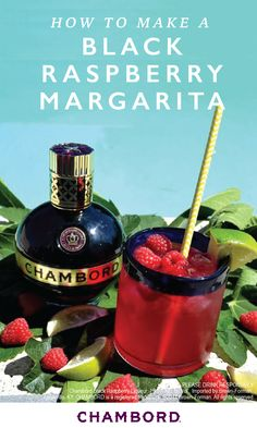 Give your favorite fiesta drink a fruity kick this summer thanks to this recipe for Black Raspberry Margaritas. Gather around your girlfriends for a cook-out and sip on this sweet cocktail combination of Chambord® Liqueur, el Jimador® Silver tequila, fresh lime juice, and pomegranate juice!