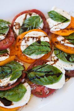 Rustic Caprese Salad..love this idea for one of our rustic-italian weddings in capri