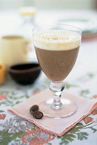 Heaven 1/2 oz. Tuaca 1 oz. Tia Maria 1 oz. Irish cream 3 oz. of strong-brewed coffee, hot