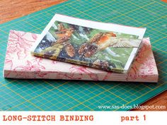 SAS does ...: Long-stitch binding tutorial - part 1