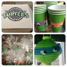 Ninja Turtles Birthday Decor