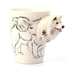 Homee Hand-Painted Ceramic Cups Coffee/Milk Mugs, In Samoyed Style Homee http://www.amazon.com/dp/B016ME4FOY/ref=cm_sw_r_pi_dp_YC3Owb10GBXXW