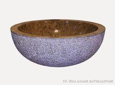 Sink Bowl Outside Hammer Color : Grey Size: Ø 35 cm X H. 15 cm Ø 40 cm X H. 15 cm Ø 45 cm X H. 15 cm