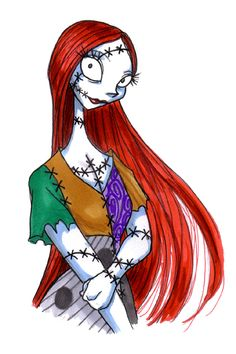 Sally - The Nightmare Before Christmas