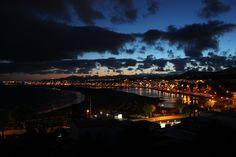 PLAYA DE LOS POCILLOS AT NIGHT LANZAROTE© VIMAPHOTO