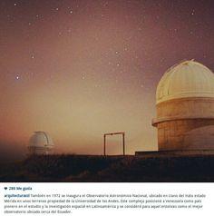 Observatorio astronomico de Merida