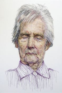 The Dementia darnings by Jenny Dutton Contemporary Embroidery, Art And Craft Design, Art Thou, A Level Art, Textile Artists, Textiles, Dementia, Life Drawing, Embroidery Art