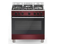 Piano de cuisson BELIEVE pas cher 5 feux + 1 four gaz Bordeaux prix promo Vente Flash Vente Unique 599.99 € TTC prix constaté* : 899 €
