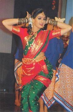 Beautiful Bollywood Actress, Most Beautiful Indian Actress, Beautiful Actresses, Hindi Actress, Old Actress, Hot Actresses, Indian Actresses, Marathi Saree, Beautiful Girl In India