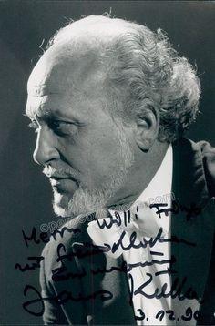Kulka, Janos - Signed Photo