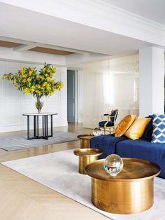 Un piso cargado de glamour