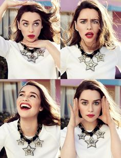emilia clarke fashion shoot3 Emilia Clarke Looks Fantastic in Glamour France Shoot by Jason Kim