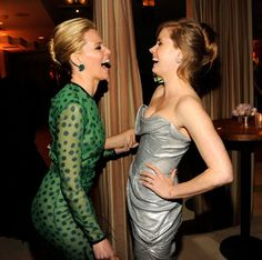 elizabeth banks and amy adams. two celebs i would gladly be friends with.