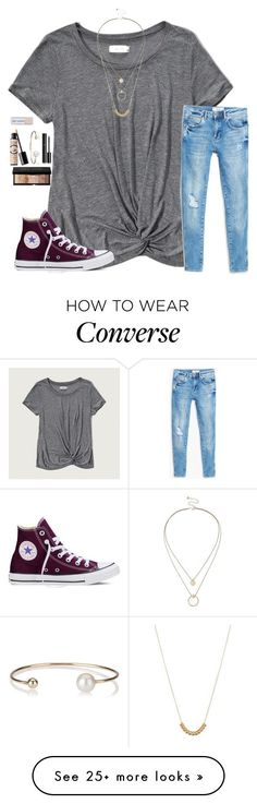 """""""And now I just sit in silence."""" by madison426 on Polyvore featuring Abercrombie & Fitch, Converse, MANGO, ASOS, Sole Society, Chanel, Letters By Zoe, Benefit and Bobbi Brown Cosmetics"""