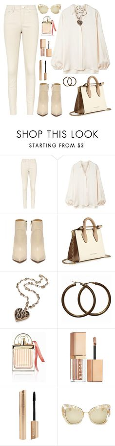 """""""Untitled #2504"""" by ebramos ❤ liked on Polyvore featuring The Row, Strathberry, Chloé, Stila and Dolce&Gabbana"""
