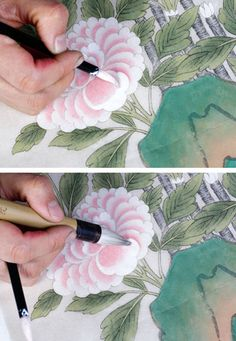 Korean Art, Drawing Reference, Lanterns, Diy And Crafts, Traditional, Drawings, Illustration, Painting, Chinese