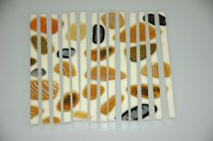 Clearwater Glass Studio - cut and reassemble fused glass pieces for new effects