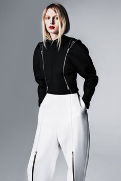 Celine Pants - Tailored Pants Trend Fall 2012 - Harper's BAZAAR