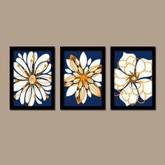 Wall Art Canvas Teal Charcoal Gray Green Artwork Colors Flower Burst Dahlia Set of 3 Trio Prints Decor Bedroom Bathroom Three | bathrooms!! | Pinterest | Gu2026  sc 1 st  Pinterest & Wall Art Canvas Teal Charcoal Gray Green Artwork Colors Flower Burst ...