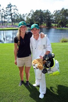 Had to get this in. My Samantha with @NiallOfficial at #Augusta this year - cool dad award?  RT for #RBCGolf4Kids