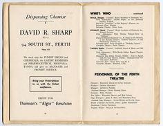 Old cast In Perth Theatre Scotland 2 Dramatic Arts, Pantomime, Chemist, Perth, Theatre, Scotland, It Cast, History, Historia