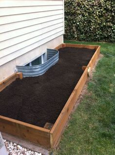 How to create a raised garden bed that's just right for a tiny space.