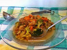 Kiosko di frutti di bosco: Zuppa di lenticchie, castagne e broccoli