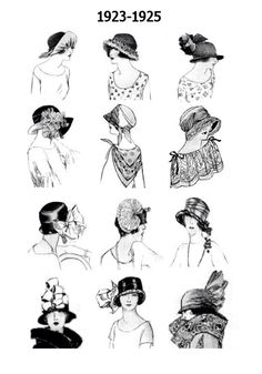 The Roaring 20s fashion I love their hats