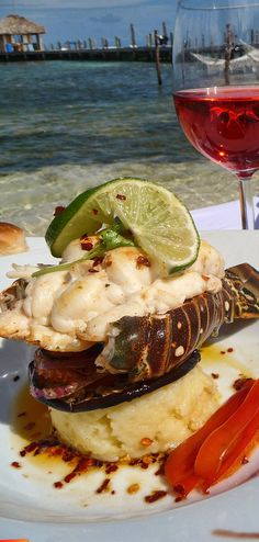The fresh and unique taste of Caribbean Spiny Lobster is hard to beat and prepared to your specifications. Oven cooked or Grilled complement. Lobster Recipes, Seafood Recipes, A Food, Food And Drink, Caribbean Recipes, Caribbean Food, Island Food, Oven Cooking, What To Cook
