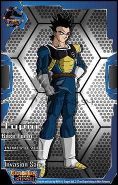 Tupin (Invasion Saga) by on DeviantArt Dragon Ball Z, Punisher Comics, Dragon Hunters, Ball Drawing, Dbz Characters, Anime Costumes, Best Waifu, Anime Artwork, Anime Guys