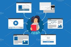 Online Education by barsrsind on @creativemarket