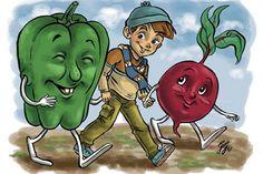Da dove vengono le verdure che troviamo ogni giorno al mercato e che finiscono nei nostri piatti? 8 incontri il sabato mattina sino al 20 maggio