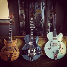 """Blue Belly Archtop guitars 14, 16, 18"""""""