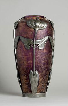 Acid-Etched-Art-Nouveau-Vase-466x723...Beautiful Example Of Art Nouveau Design...