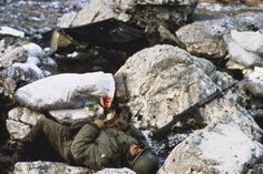 Fallen Argentine Soldier.