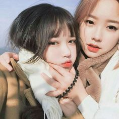 ulzzang, girl, and cute kép Uzzlang Girl, Cute Korean Girl, Asian Girl, Korean Beauty, Asian Beauty, Girls In Love, Cute Girls, Poses, Couple Ulzzang