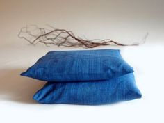 Pillow covers blue  home decor by lalunadianna on Etsy