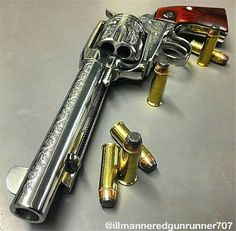 Ruger New Vaquero Self Defense Weapons, Weapons Guns, Guns And Ammo, Revolver Pistol, Revolvers, Arsenal, Best Handguns, Gun Art, Magnum