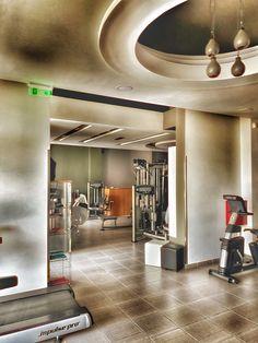 Strength Room Health Fitness, Strength, Ceiling Lights, Gym, Club, Living Room, Places, Home Decor, Interiors