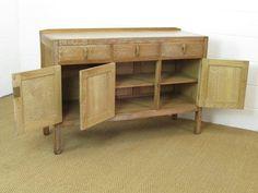 Heal's Limed Oak Cotswold Style Sideboard - Antiques Atlas