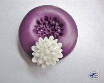 Mum Mold - Chrysanthemum Mold - Silicone Molds - Flower - Polymer Clay Resin Fondant