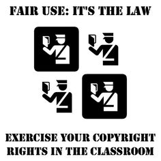 Copyright and Fair Use guidelines for students. An overview.