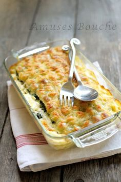 Lasagnes de ravioles du Dauphiné this is the origial french recipe, you'll have to translate it but it is quiet simple French Dishes, French Food, My Favorite Food, Favorite Recipes, Pasta Recipes, Cooking Recipes, Cooking Tips, French Tart, Cooking Photos